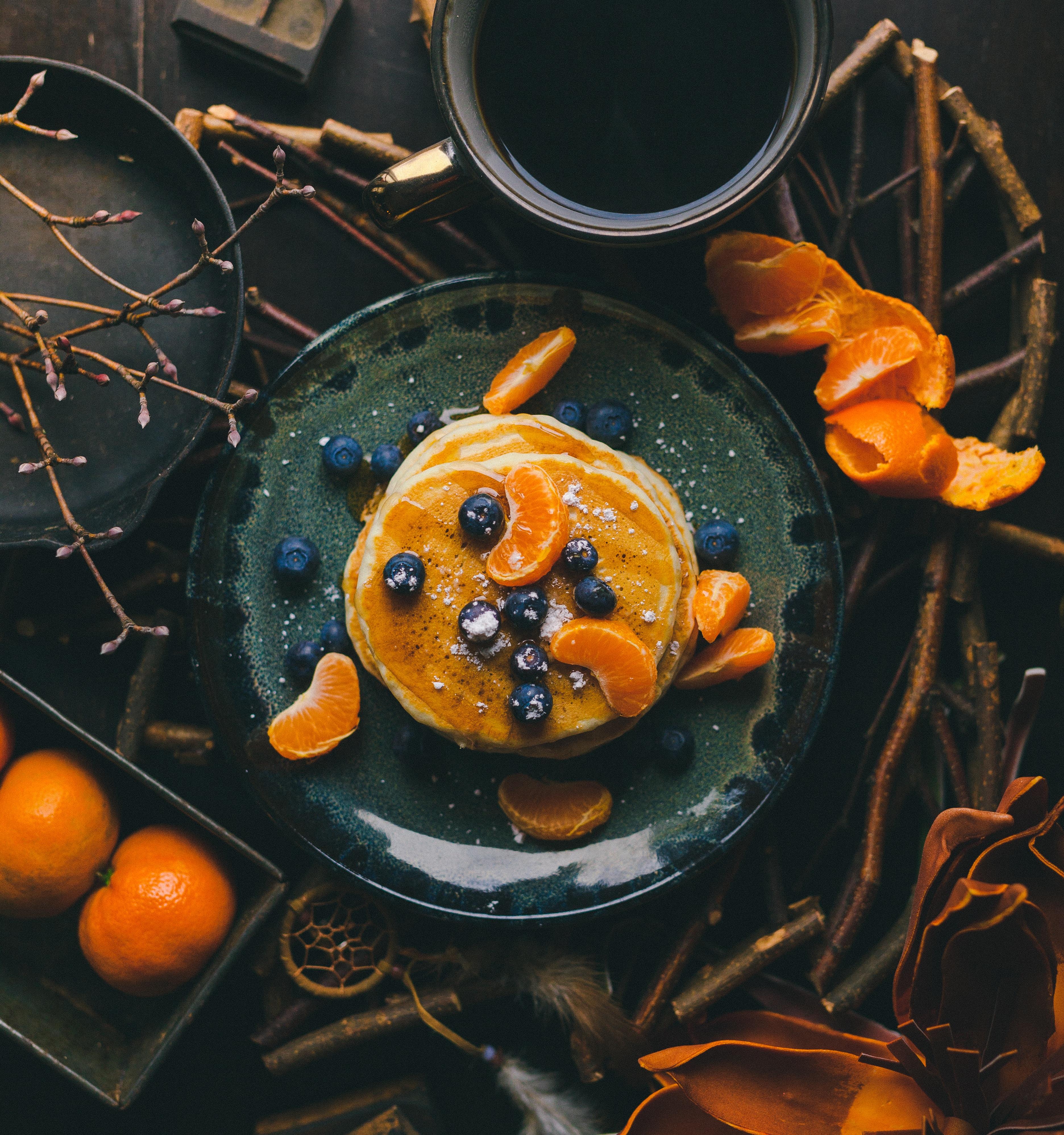 Homemade pancake