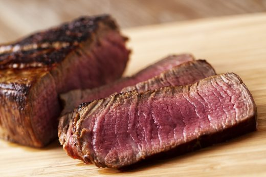 Blue Rare Steak Levels of Cooked Meat