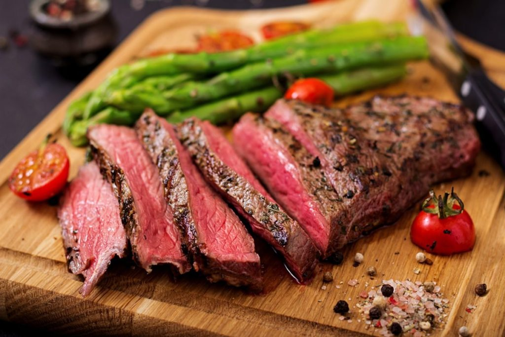 Rare Steak Levels of Cooked Meat